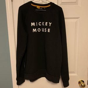 Frank & Oak Mickey Mouse Crewneck Sweatshirt